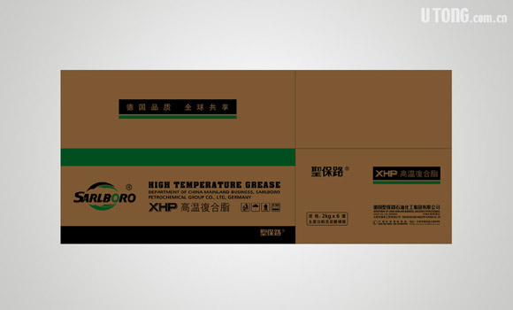 润滑油纸箱设计