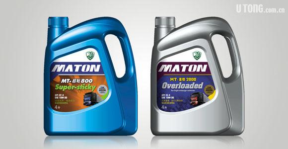 maton 麦顿润滑油 系列包装设计