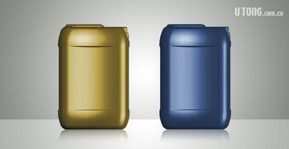 润滑油桶形设计_润滑油瓶形设计