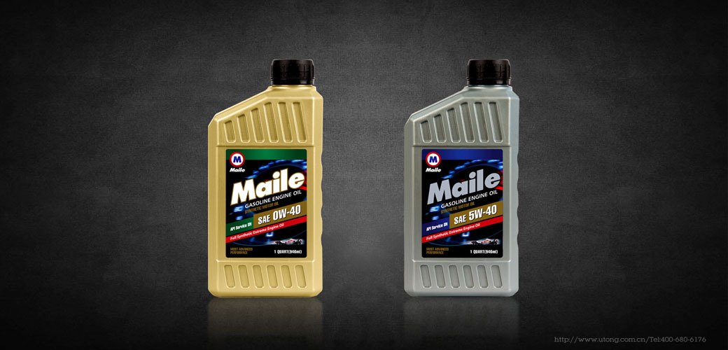 maile美列润滑油包装形象设计