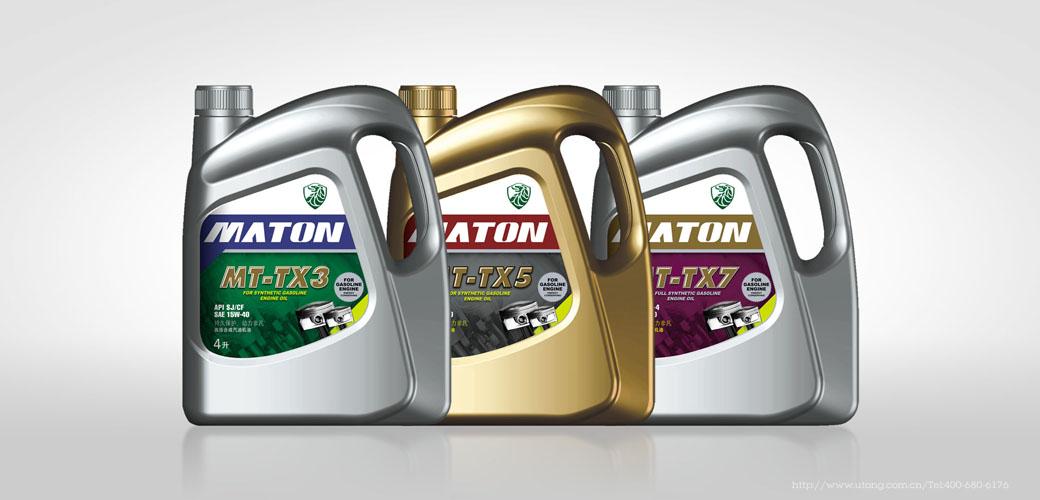 麦顿润滑油包装设计